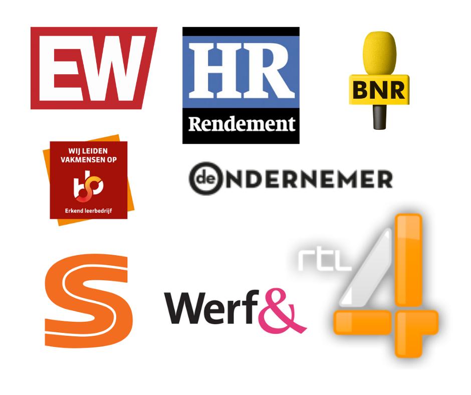 publicaties in diverse media van bureau brand